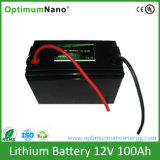 Bateria de íon de lítio por atacado 12V 100ah