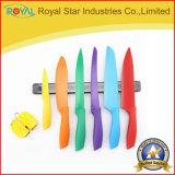 磁気ホールダーが付いている8本のPCSのステンレス鋼の印刷カラーナイフ