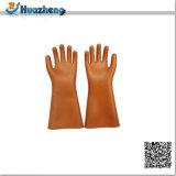 Gants isolants de latex en caoutchouc 20kv électrique bon marché de bonne qualité