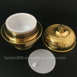 Luxuxkronen-Schutzkappen-Sahne-Gläser für das kosmetische Verpacken
