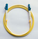 Cabo de correção de programa da fibra óptica do LC Upc-FC/Upc milímetro Om1 Dx