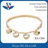 braccialetti femminili dei monili placcati oro 18k