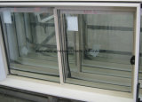 Double Glazing aluminum/Aluminum Alloy Bathroom Sliding Windows