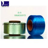 Het verdovend middel Geverfte Garen FDY 150d/72f van de Polyester