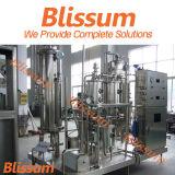 Chaîne de production remplissante de boissons carbonatées molles automatiques en plastique