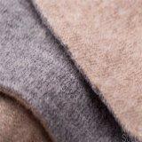 Doubles tissus de cachemire de côtés de 100% pour la saison de l'hiver