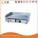 Gril de gauffreuse de fer de moulage de gaz de matériel de cuisine de gauffreuse avec le Module