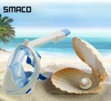 China-Fertigung-volles Gesichts-trockene Unterwasseratemgerätsnorkel-Tauchens-Schablone