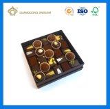 Tapa de la alta calidad y rectángulo bajo de Chocoate con la bandeja del divisor (rectángulo de empaquetado del rectángulo del chocolate)