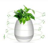 POT di fiore astuto di musica dell'ABS K3 dell'indicatore luminoso di notte del LED del Flowerpot astuto LED di Bluetooth con l'altoparlante di Bluetooth e la lampada variopinta