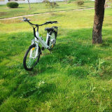 bicicleta elétrica escondida 26inch da bateria para mulheres