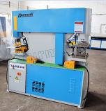 o metal 160t que processa o ferro de aço trabalha a máquina de perfuração hidráulica principal dobro da maquinaria