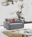 Zwei Sitzfunktionssofa-Bett, Fernsehapparat-Wohnzimmer-Möbel, Hauptgewebe-Sofa