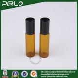 5ml het amberBroodje van de Essentiële Olie van de Kleur op Fles met de Rol van het Roestvrij staal en Zwart GLB