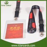 Lanière bon marché de téléphone cellulaire de collet avec la vente en gros de clip