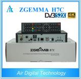 Nieuwe 4K SatellietOntvanger Zgemma H7c met Tuners DVB-S2X+2*DVB-T2/C Drie