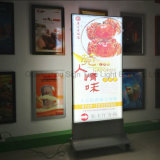 Рекламировать алюминиевый профиль СИД рекламируя изогнутую светлую коробку