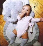 Giocattoli striscianti dell'animale della peluche dell'elefante della stuoia del bambino