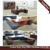 (HX-5DE3673) Forniture di ufficio moderne esecutive nere di disegno elegante della scrivania
