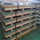 Taille de la tôle d'acier de décoration de fini de miroir de couleur d'or de la feuille SUS304 d'acier inoxydable de la Chine 4X8