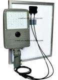 30Wは屋外のためのLEDの太陽ライトによって統合される赤外線センサーを防水する