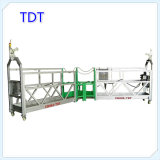 Fabrication d'usine 8-10m / Min Suspended Echafaudage (ZLP800)