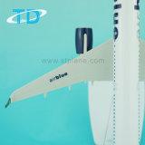 A321neo Airbiue 22cm 1/200 Tischplattenflugzeug-Modell für förderndes Geschenk