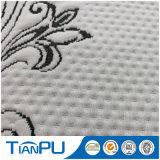 Ткань 100% жаккарда PU полиэфира Coated для протекторов тюфяка
