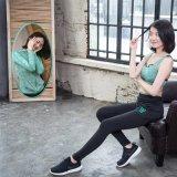 Frauen-weiche dünne Komprimierungspandex-Gymnastik-Trainings-Trainingsnazug-Yoga-Kleidung