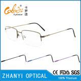 Рамка оптически стекел Eyewear Eyeglass самой последней конструкции Titanium (8313)