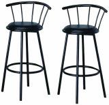 Cadeira preta da barra de metal do giro para os restaurantes de Restaunt (JY-H01)
