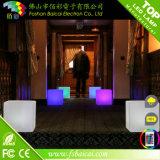 Mobiliário de discoteca para venda cadeira de cubo de LED