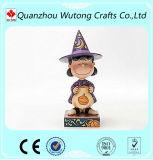 樹脂のHalloween表の装飾の子供のためのおかしくかわいい樹脂の小悪魔のクラフト