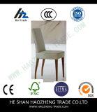 2のセットHzdc142-1家具の黒の革肘のない小椅子