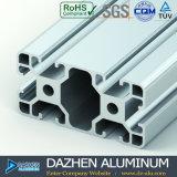 Profil en aluminium d'extrusion de T-Fente avec la couleur argentée anodisée