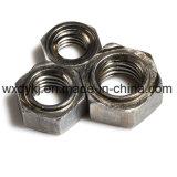 Noce normale della saldatura di esagono della saldatura di acciaio del grado 4.8
