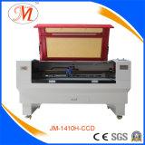 Machine en cuir de laser avec le pouvoir réglable (JM-1410H-CCD)