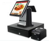 15inch Touch Screen Positions-Terminalregistrierkasse mit thermischem Empfangs-Drucker, Bargeld-Fach, Barcode-Scanner