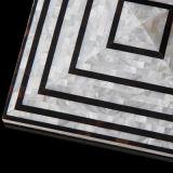 Tuile nacrée de mur de mosaïque d'interpréteur de commandes interactif de placage de luxe de modèle