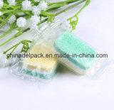 Nicht phosphatische 3 Farben, automatischer Maschinen-Abwasch-reinigende Tabletten, Dishwaher Tablette