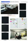 家の装飾の極度の白い極度の黒い磨かれた磁器の床タイル