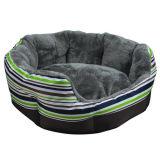 Base del gatto del cane del sofà dell'animale domestico della striscia/Camera verdi/blu (KA0068)