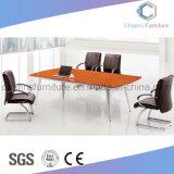 Table de réunion fonctionnelle de poste de travail de mélamine de bureau