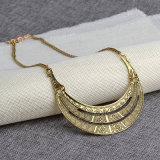 Jóia robusta da colar dos Chokers do colar do Bib dos pendentes & das colares da indicação do metal para mulheres