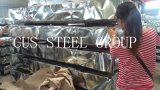 Le revêtement galvanisé de mur en métal/a ridé la plaque d'appui en acier