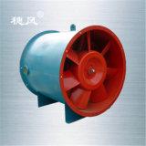 Xlf-4.5f Serie geneigter Fluss-Rohrleitung-Trommel- der Zentrifugeventilator
