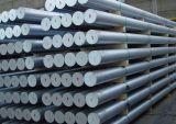 6063 7005 7075 6082 6061 Barra / varilla redondeada extrusionada de aluminio para la industria