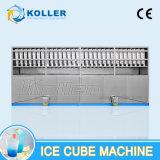 Machine à cube glacée Eible (8 tonnes / jour) avec système d'emballage