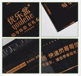 Kundenspezifischer schwarzer Farben-Eilbote-Pfosten-Eilbote-Post-Beutel mit kundenspezifischem Firmenzeichen