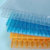Feuilles en plastique imperméables à l'eau de cavité de polycarbonate de PC de Multiwall